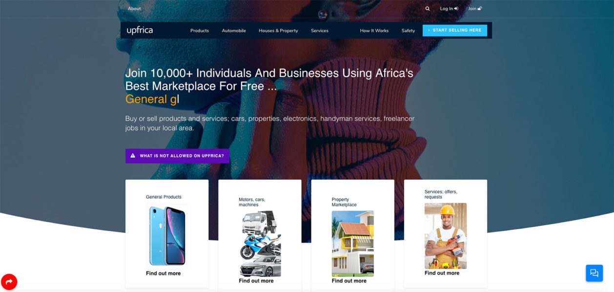 Upfrica Marketplace
